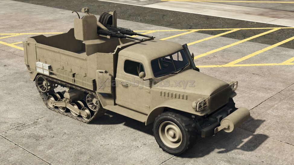 Vehicle Image. Model name: halftrack