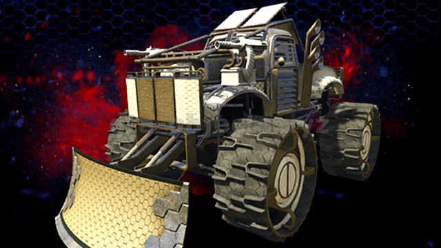 Vehicle Image. Model name: monster4