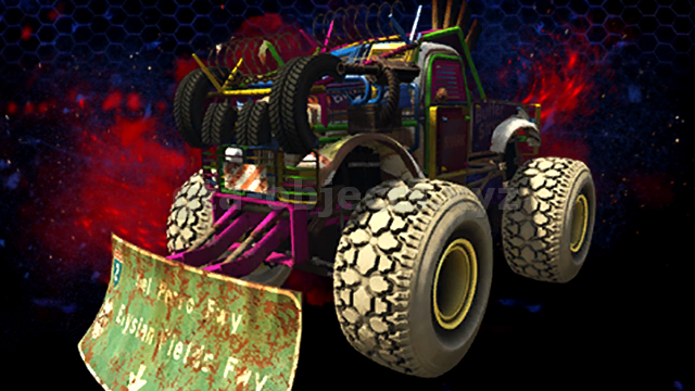 Vehicle Image. Model name: monster5